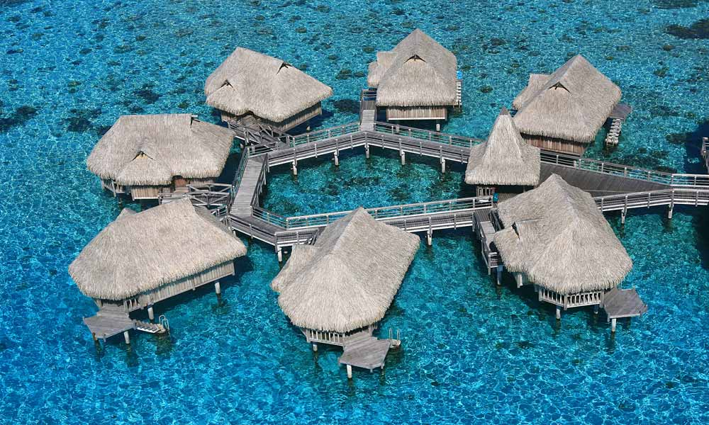 Sofitel Moorea Ia Ora Beach Resort, Aerial View