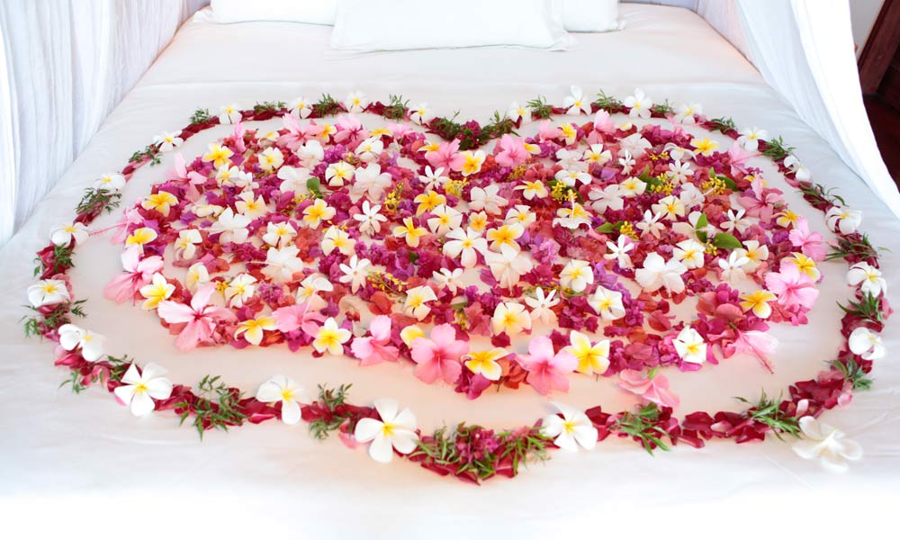 Sofitel Moorea Ia Ora Beach Resort, Flower Bed