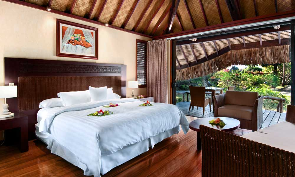 Hilton Moorea Lagoon Resort & Spa, Garden Pool Bungalow