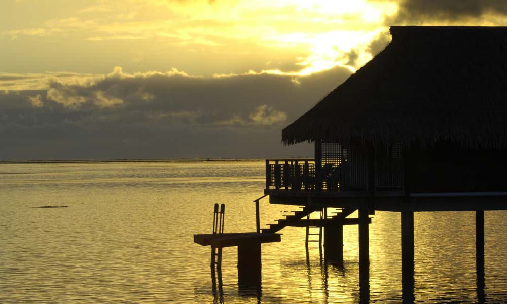 Hilton Moorea Lagoon Resort & Spa, Sunset