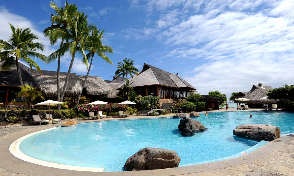 Hilton Moorea Lagoon Resort & Spa, Pool