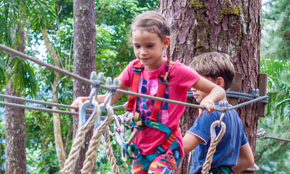 Tiki Parc, Aerial Adventure for Children