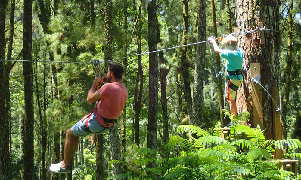 Tiki Parc, Zipline for Children