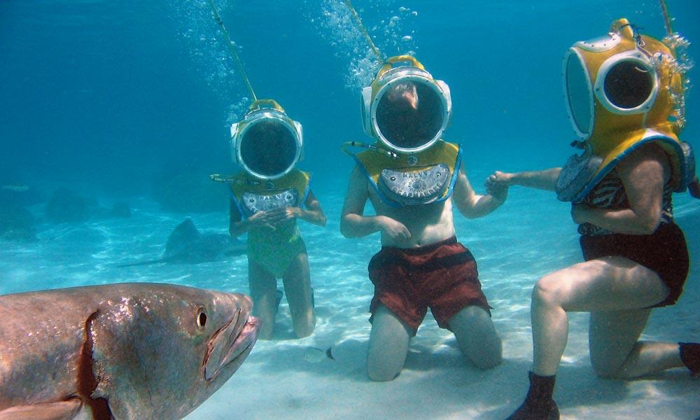 Aquablue Helmet Dive, Things To Do In Moorea