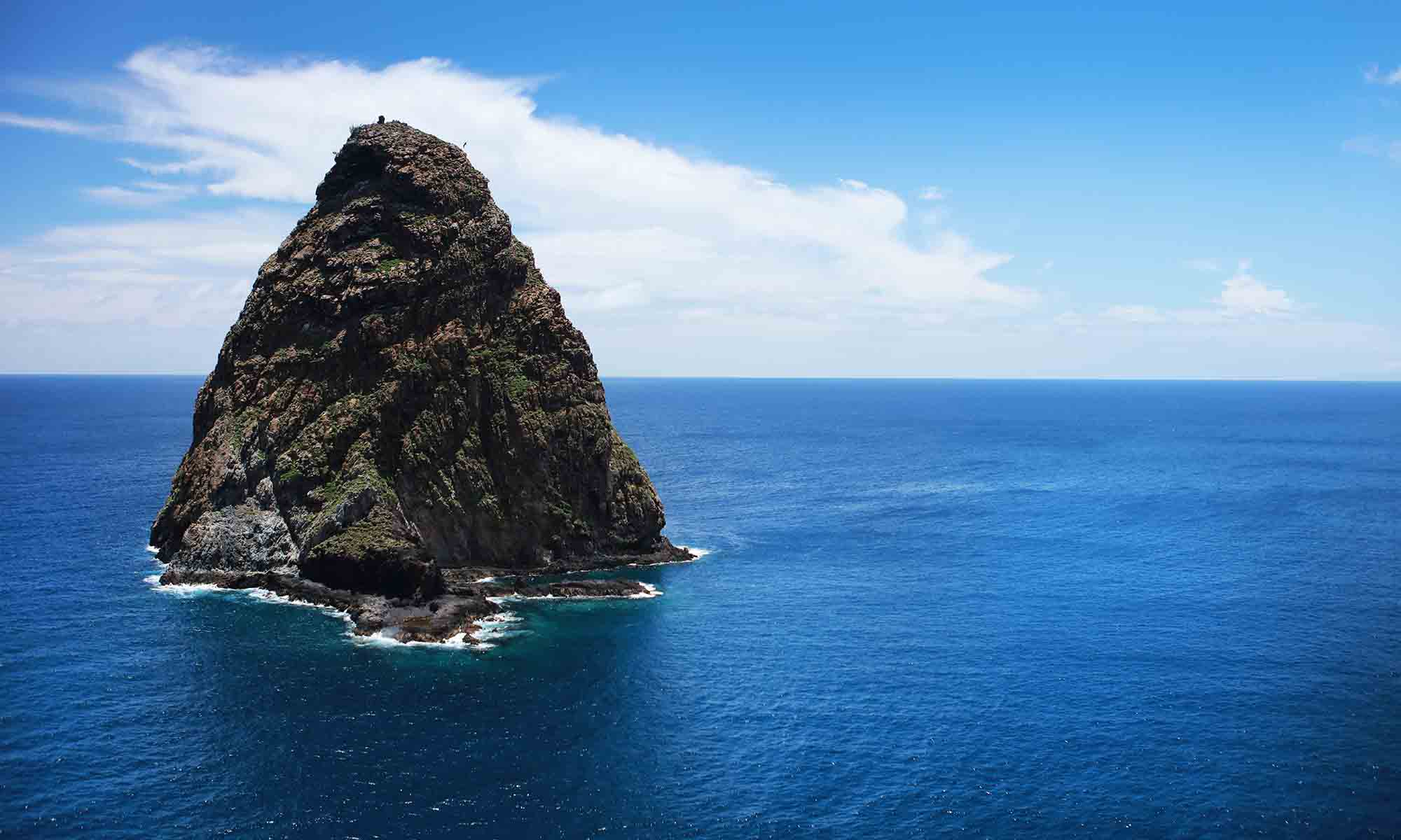 Rugged Coastlines in the Marquesas Islands