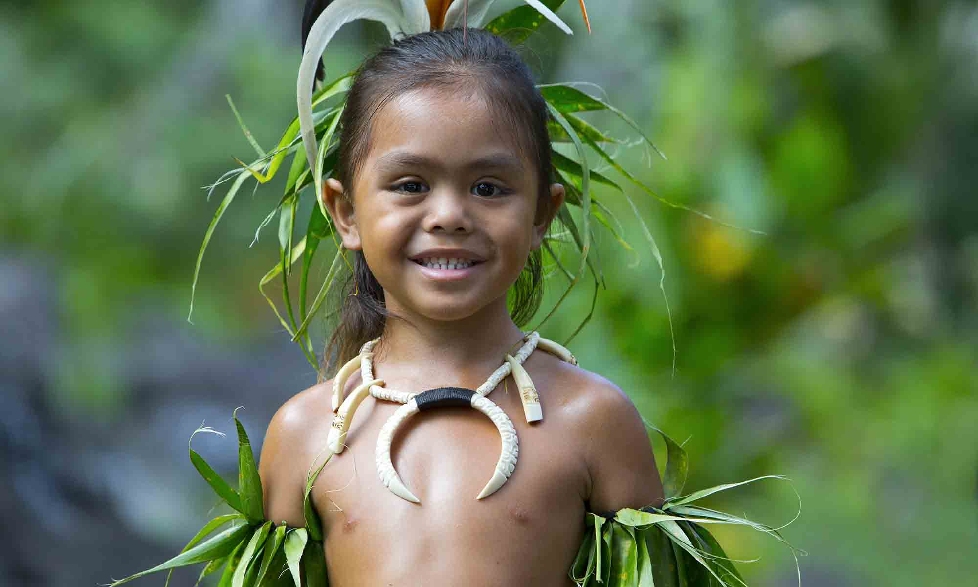 The Friendly Locals from the Marquesas