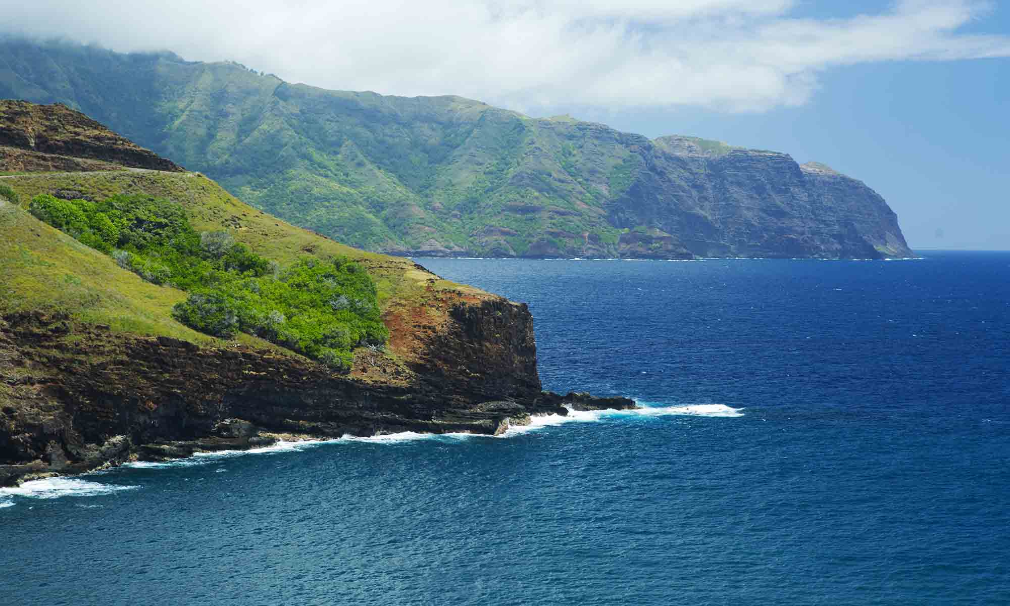 Rugged Coastlines in the Marquesas