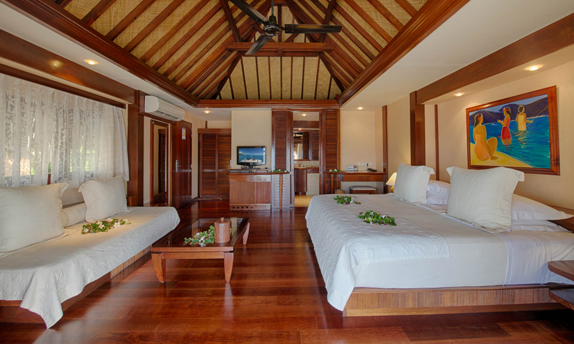 Manava Beach Resort & Spa, Beach Bungalow