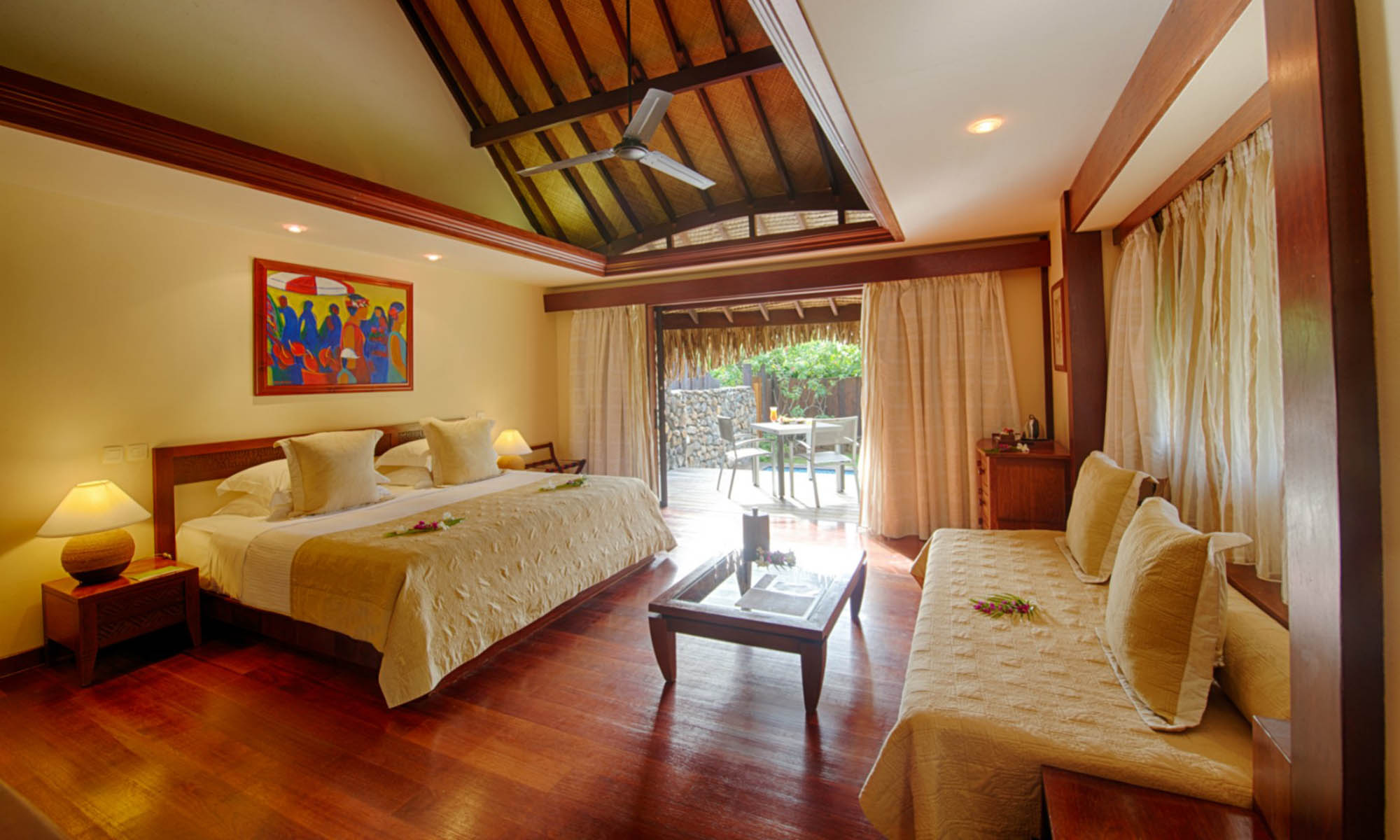 Manava Beach Resort & Spa, Garden Pool Bungalow