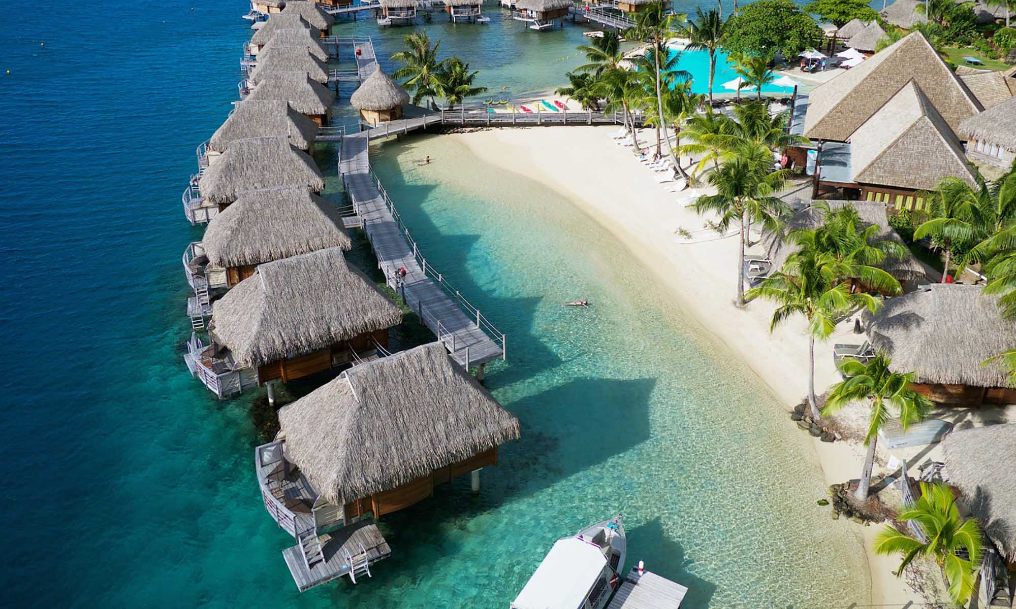 Manava Beach Resort & Spa, Overwater Bungalows