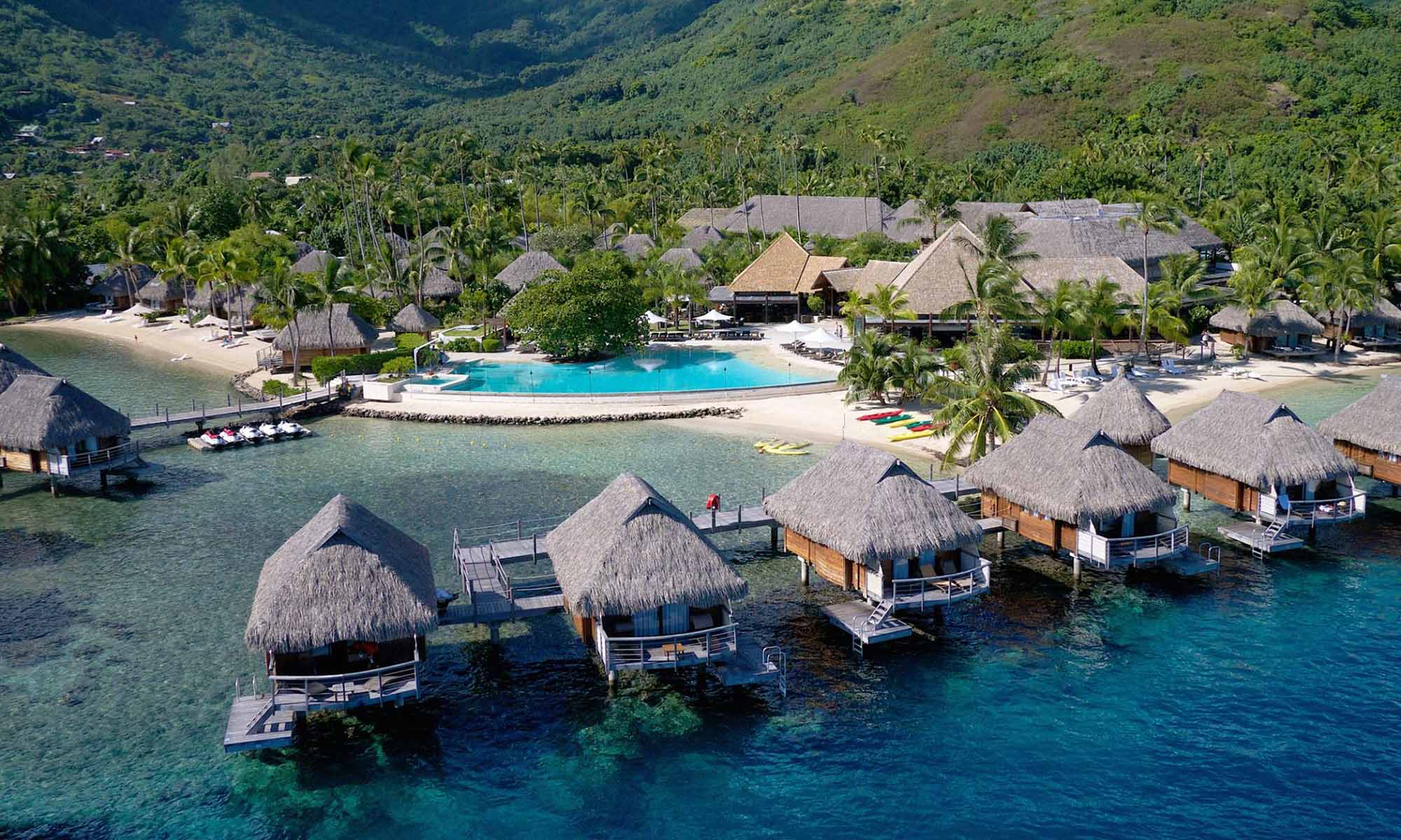 Manava Beach Resort & Spa, Aerial