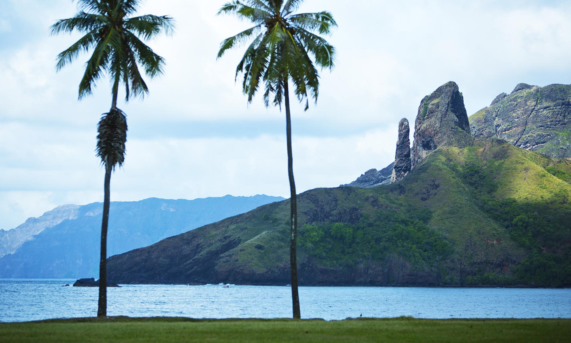 Marquesas Rugged Landscape