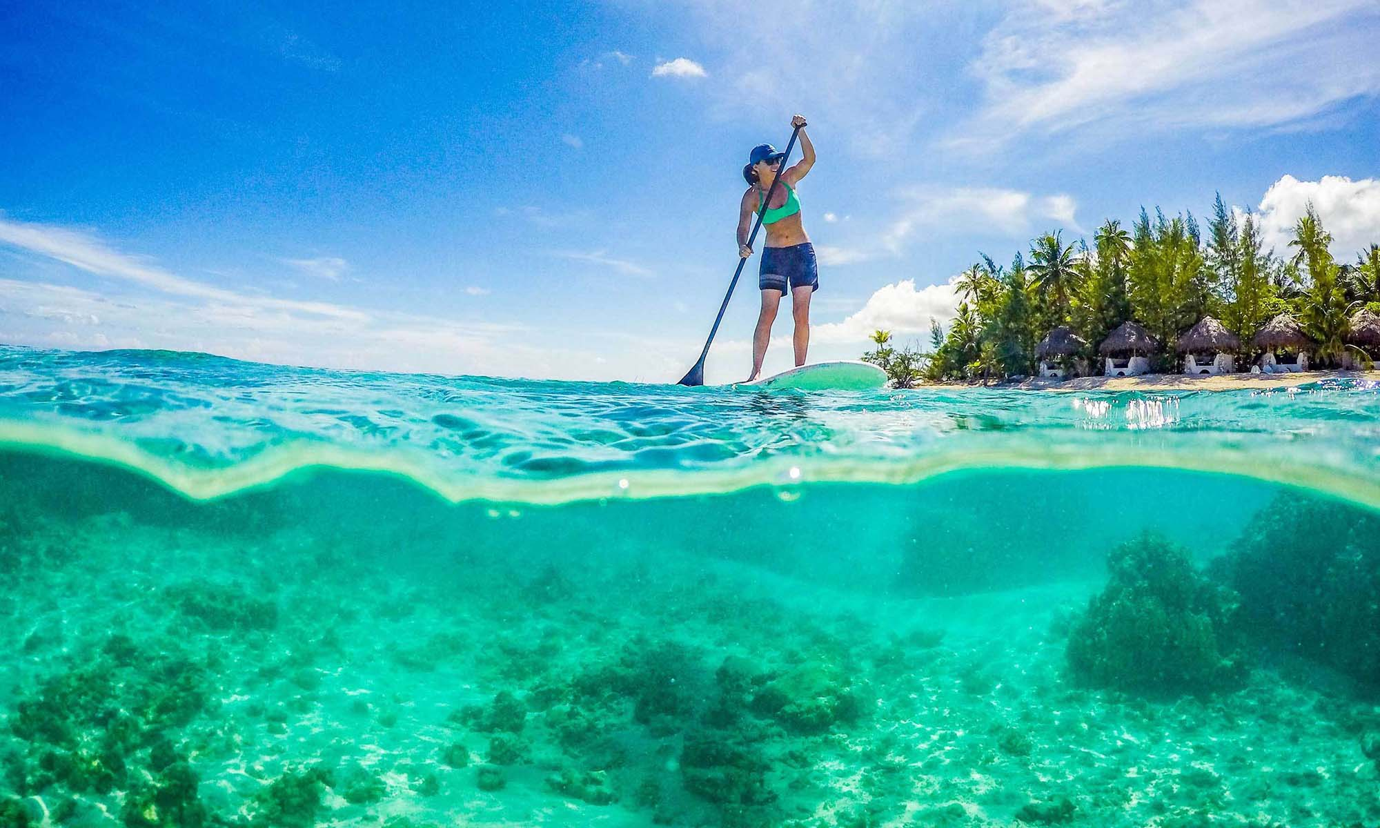 Ninamu Resort, Paddleboarding