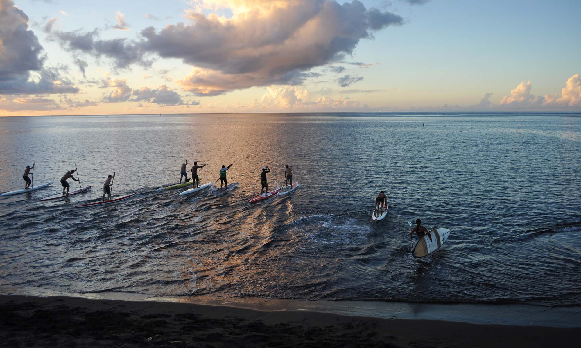 Royal Tahitien, Paddleboarding