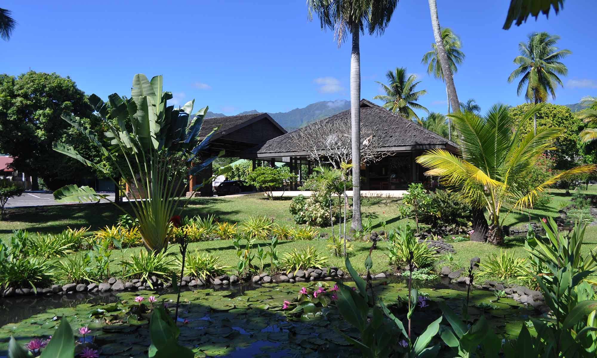 Royal Tahitien, Hotel Grounds