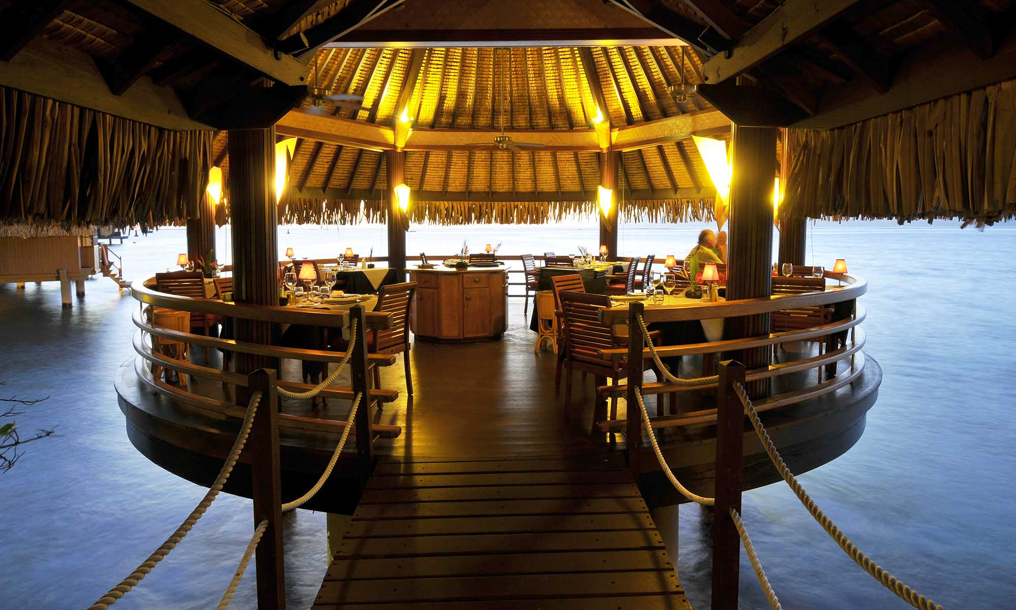 InterContinental Tahiti Resort, Le Lotus Gourmet Restaurant