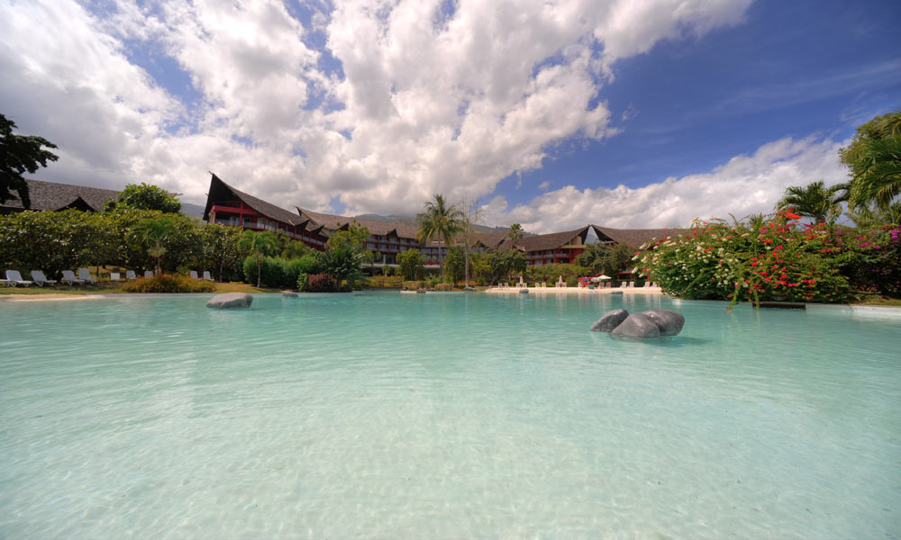 Le Meridien Tahiti, Sand Bottom Pool