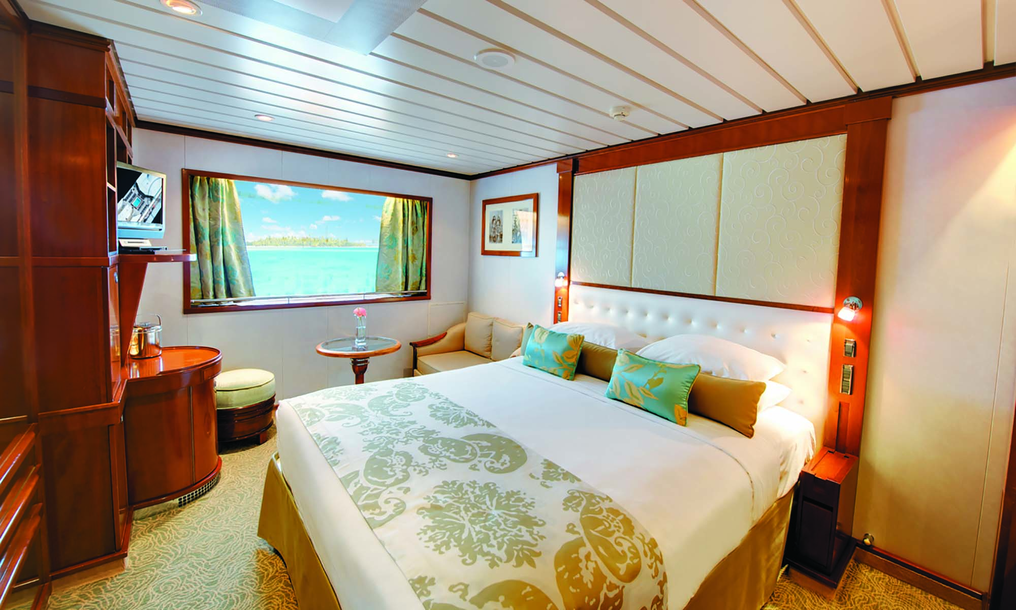 Paul Gauguin Cruise, Window Stateroom