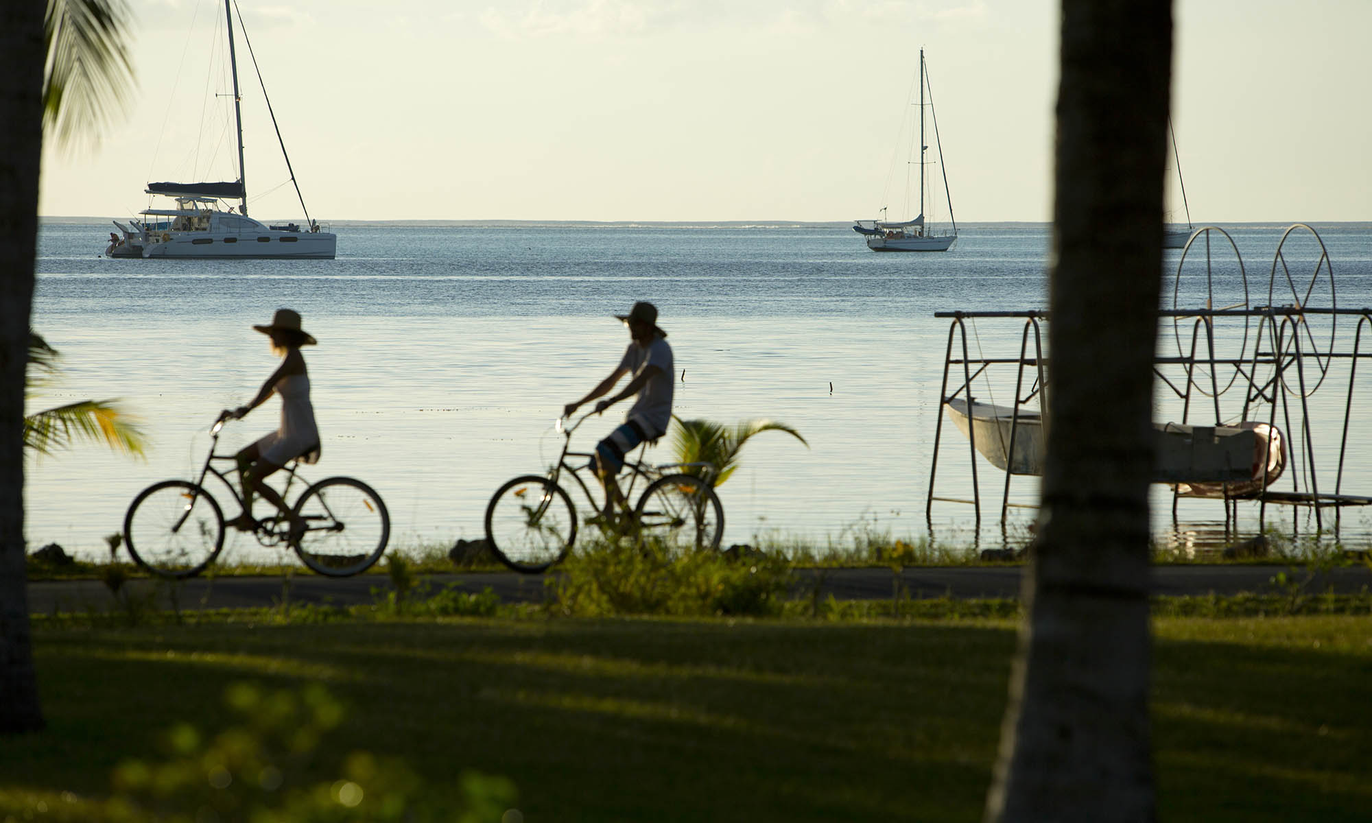 Bicycle Riding on Raiatea