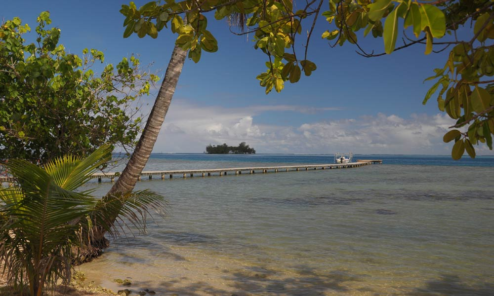 Raiatea Lodge Hotel, Dock