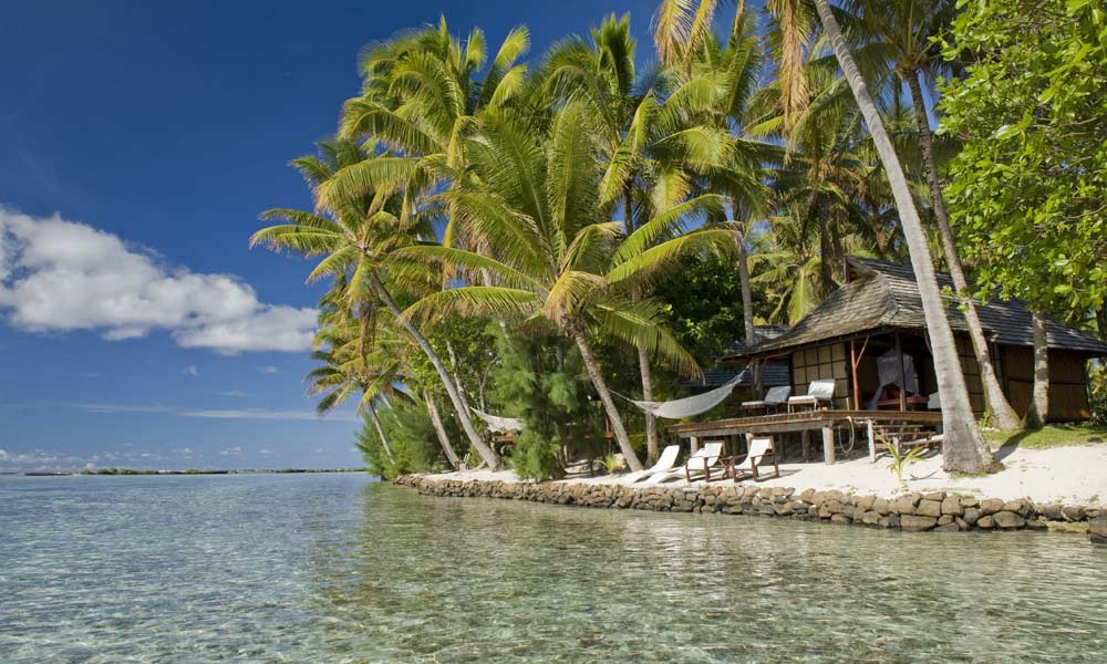Vahine Island Private Resort, Beach Bungalow