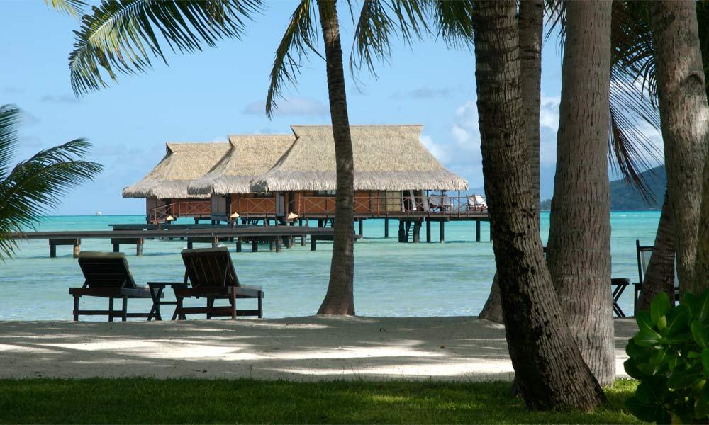 Vahine Island Private Resort, Overwater Bungalows