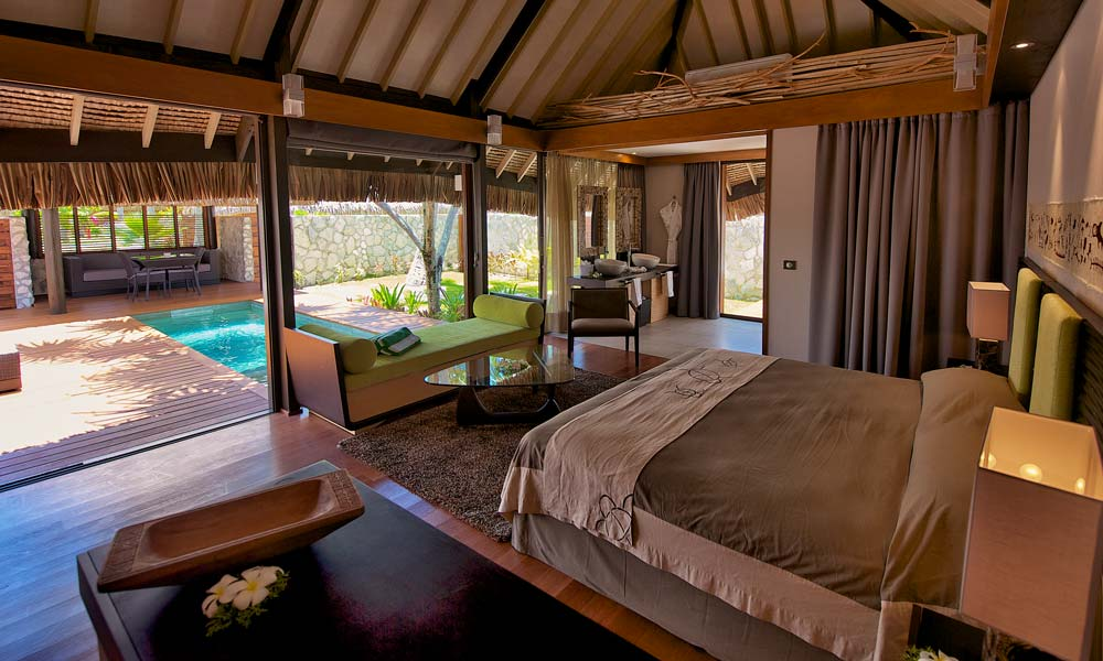 hotel kia ora resort and spa villa with pool