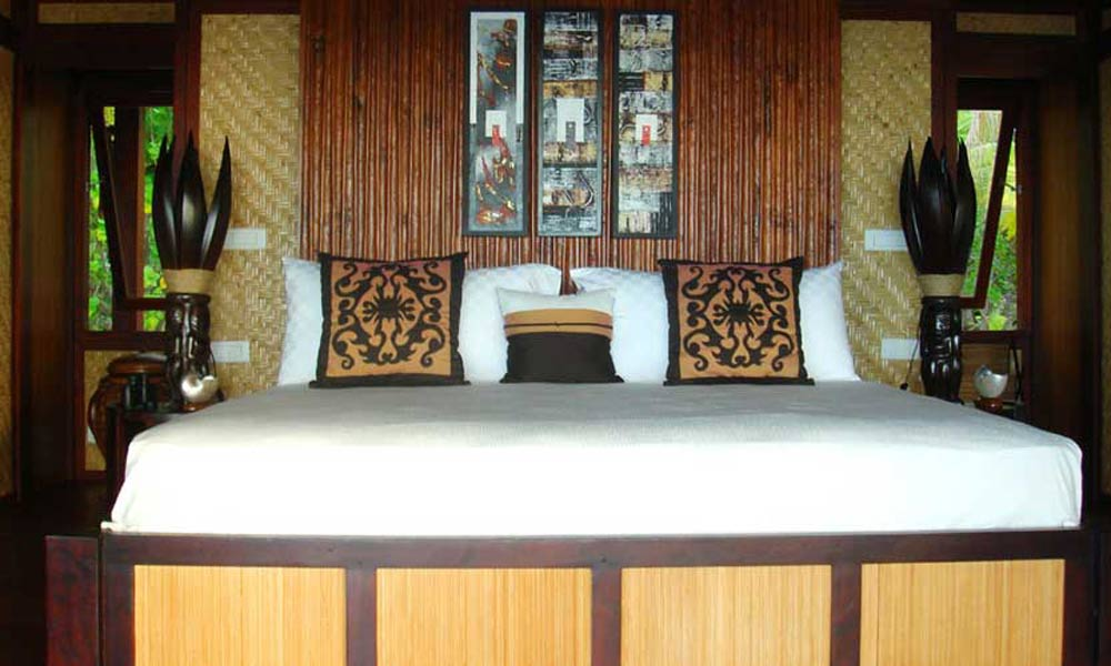 Motu Teta Private Island, Guest House Master Bedroom