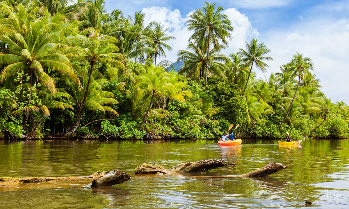 Kayak the Faaroa River on Raiatea