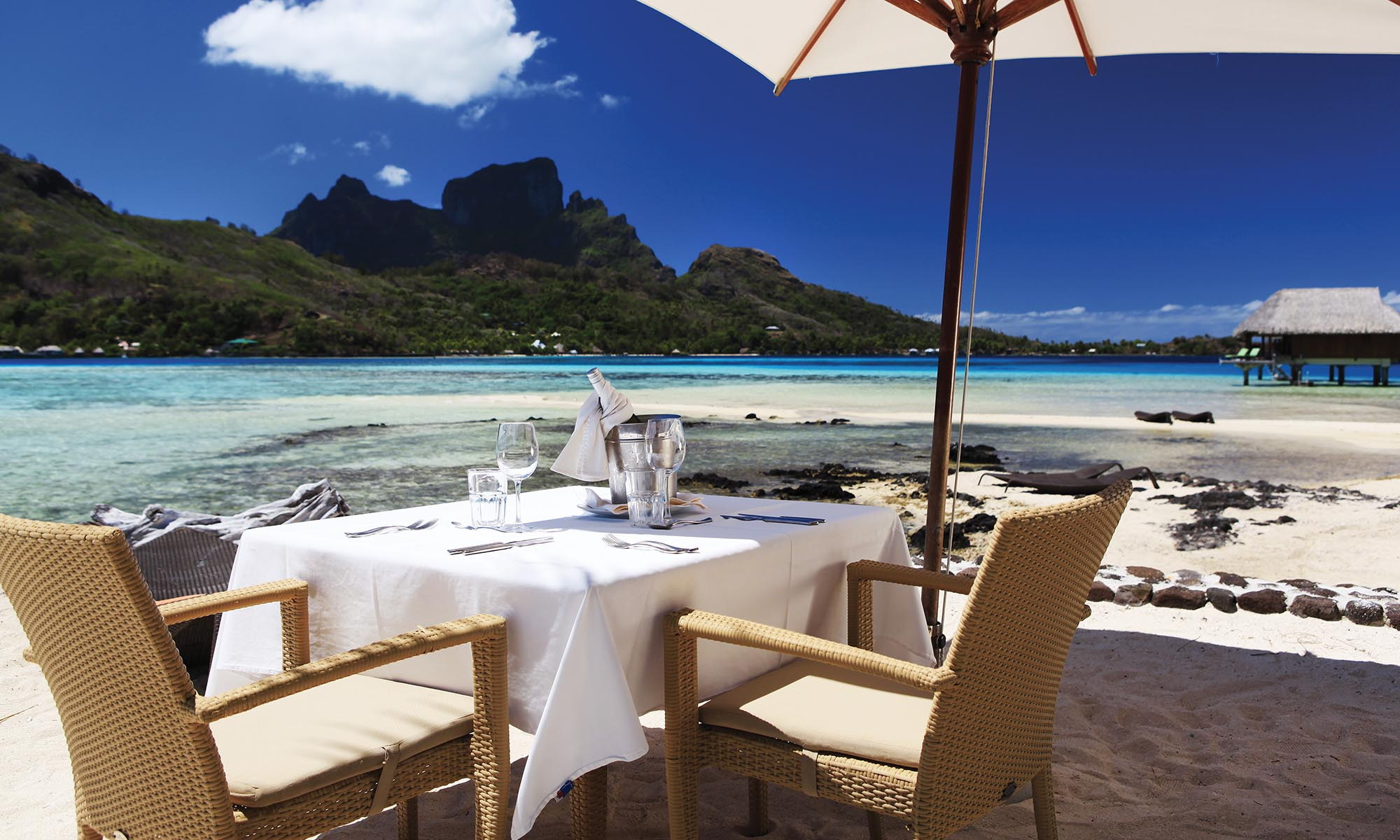 Sofitel Bora Bora Private Island, Private Lunch