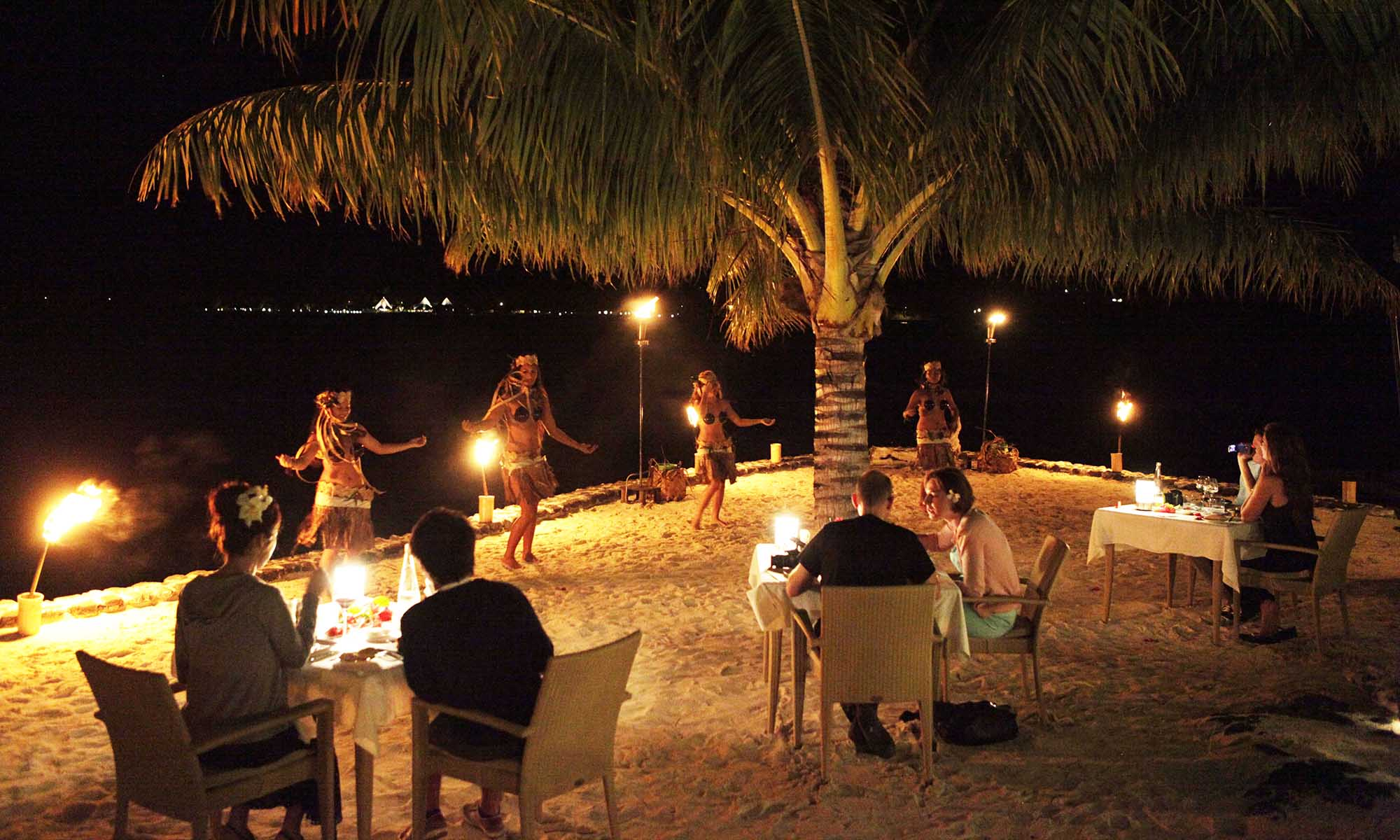 Sofitel Bora Bora Private Island, Romantic Soiree