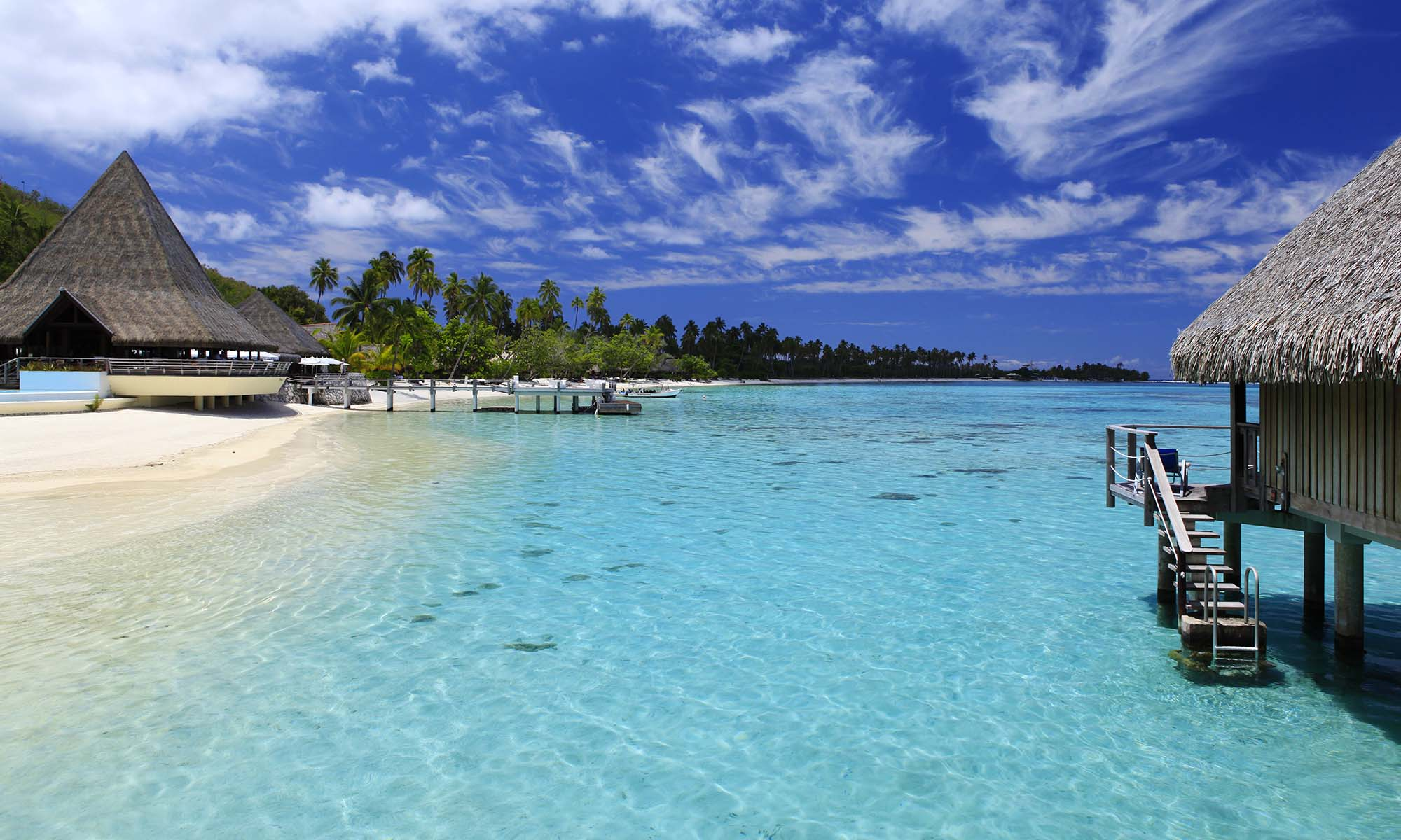 Sofitel Moorea Ia Ora Beach Resort, Beach