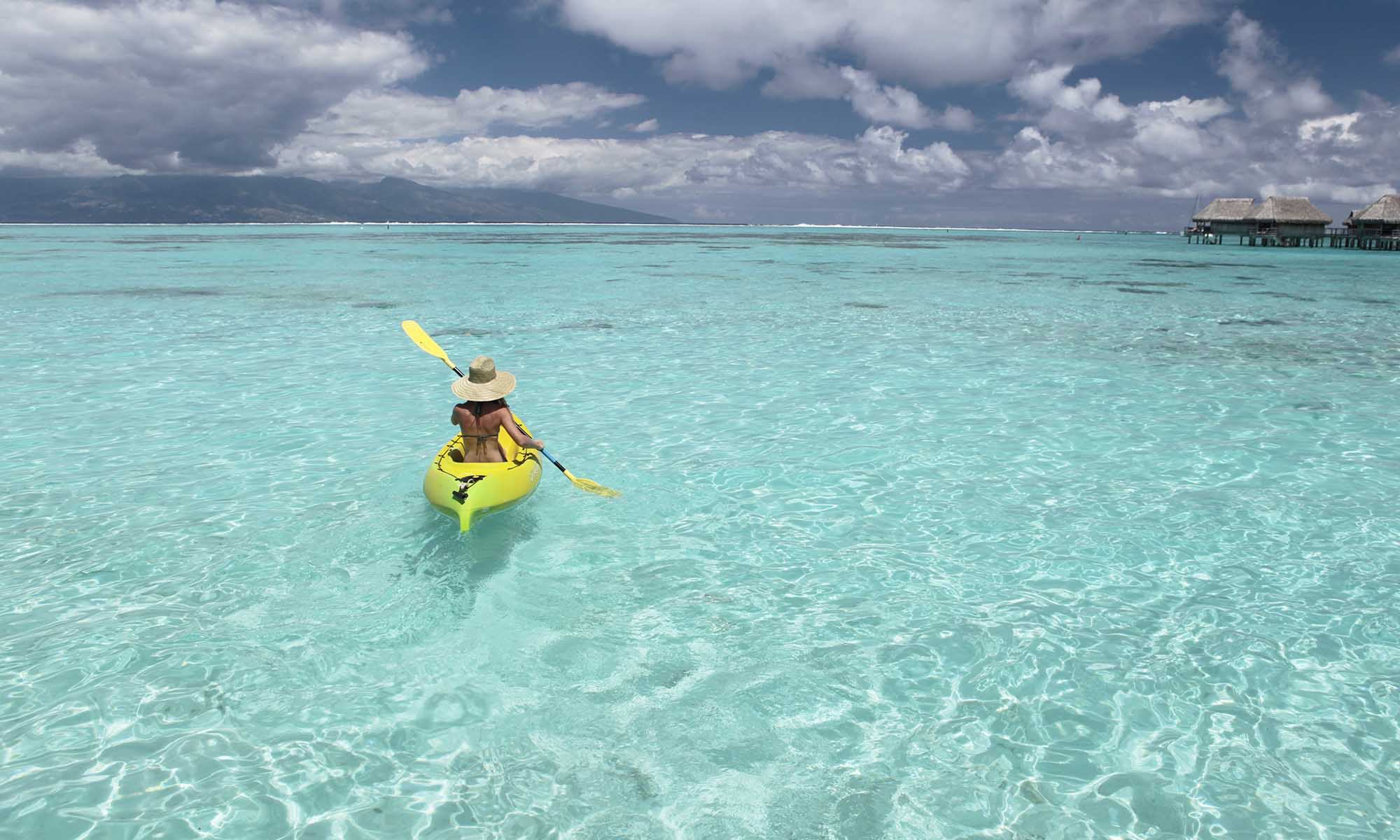 Sofitel Moorea Ia Ora Beach Resort, Kayaking