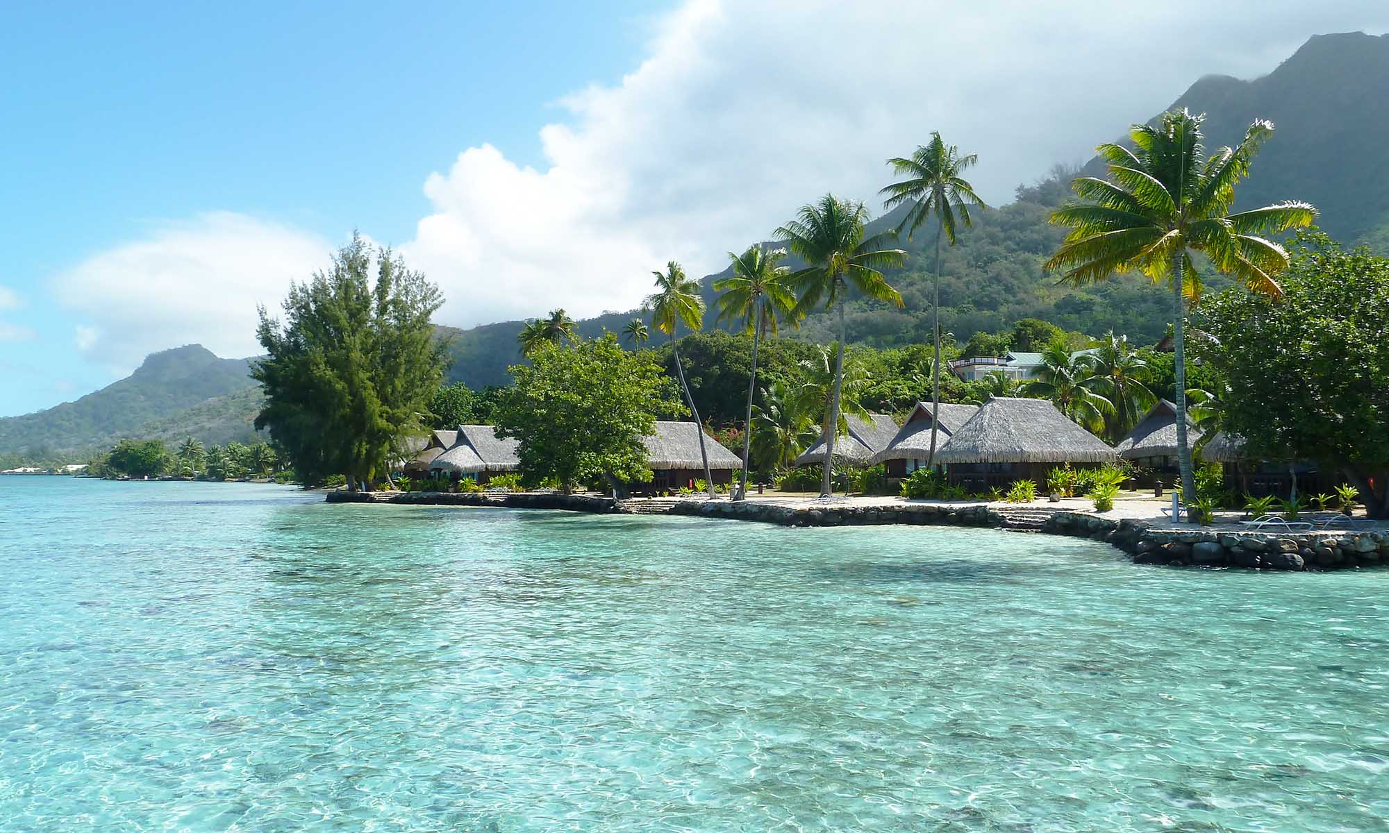 Sofitel Moorea Ia Ora Beach Resort, Lagoon Bungalows