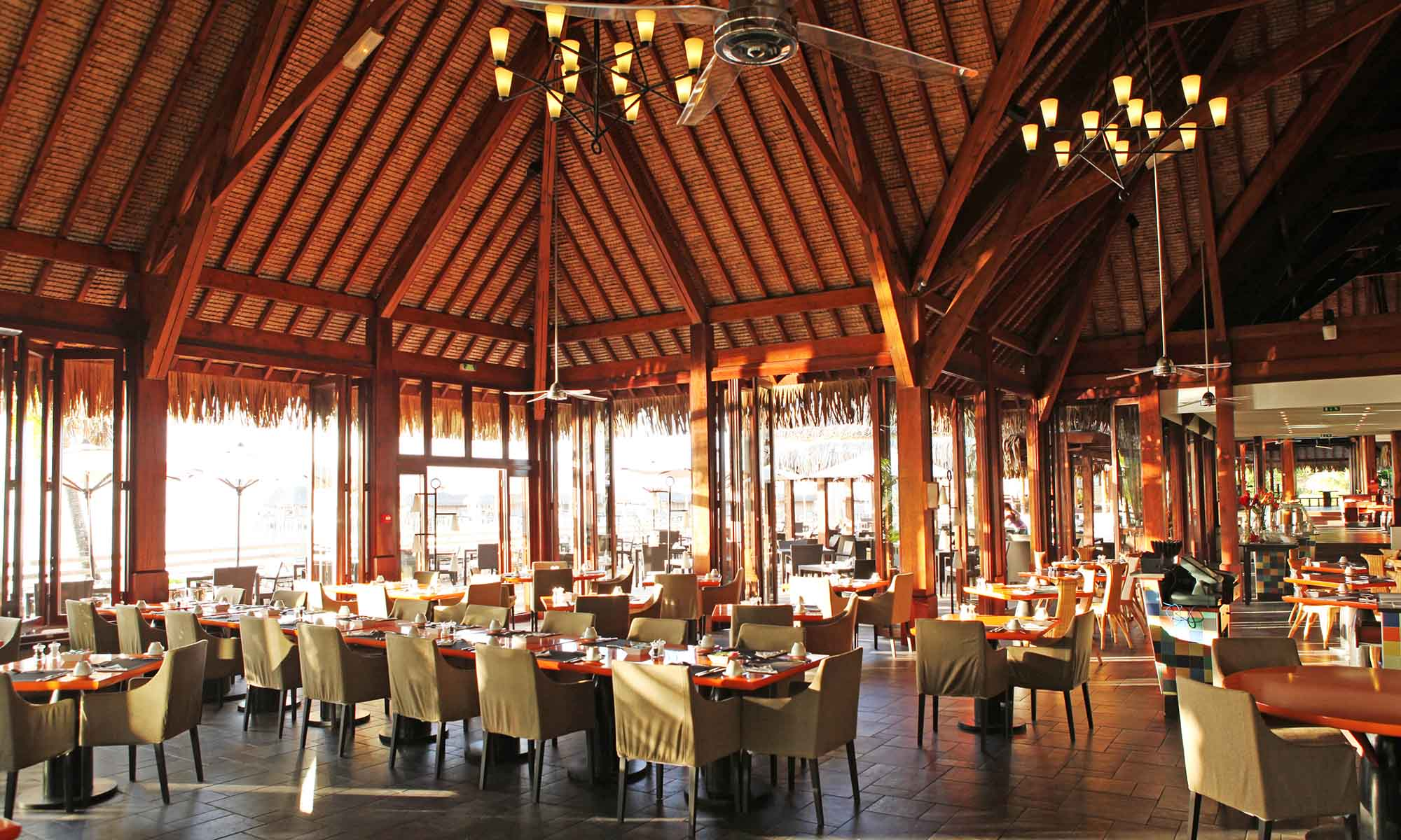 Sofitel Moorea Ia Ora Beach Resort, Pure Restaurant