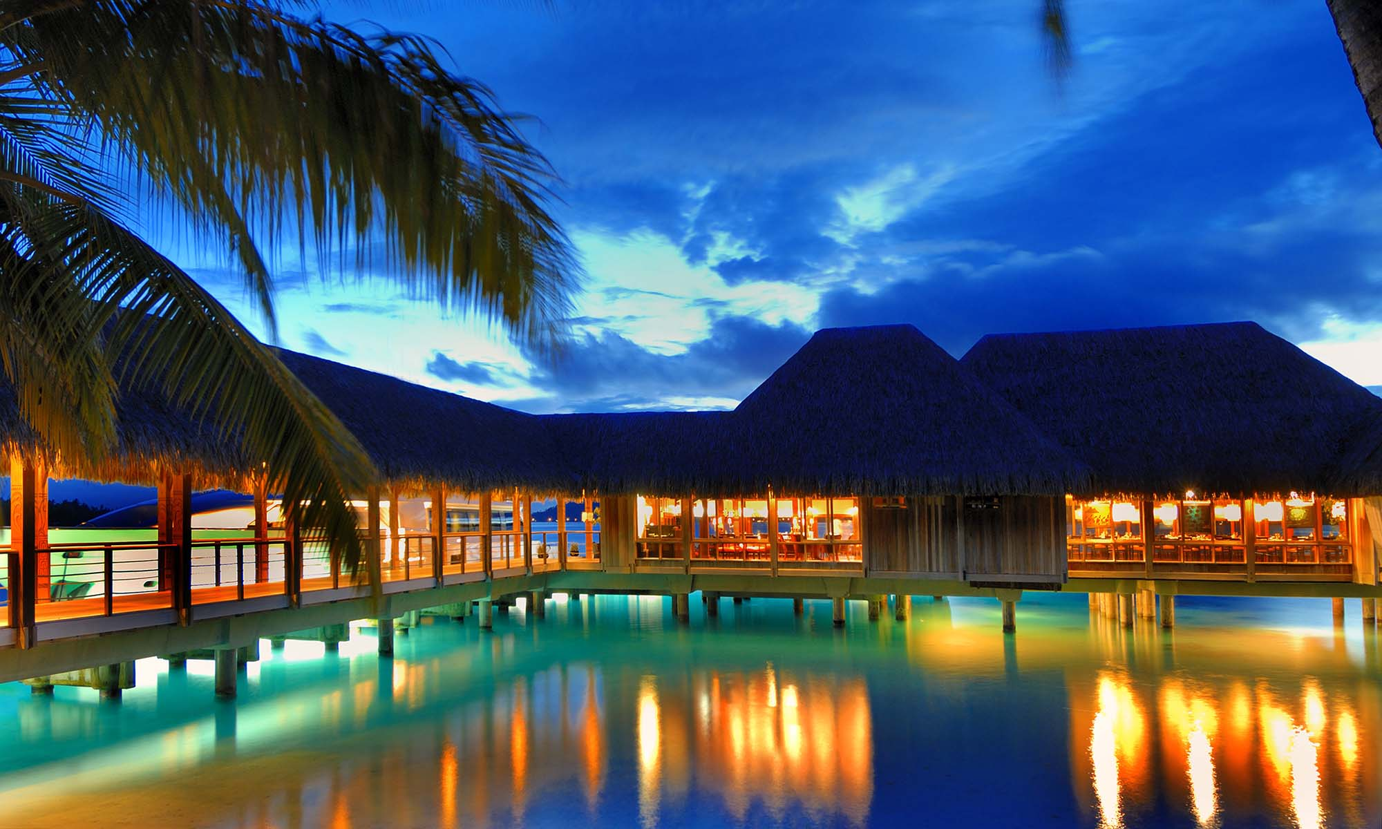 St Regis Bora Bora Resort, Lagoon by Jean-Georges Restaurant