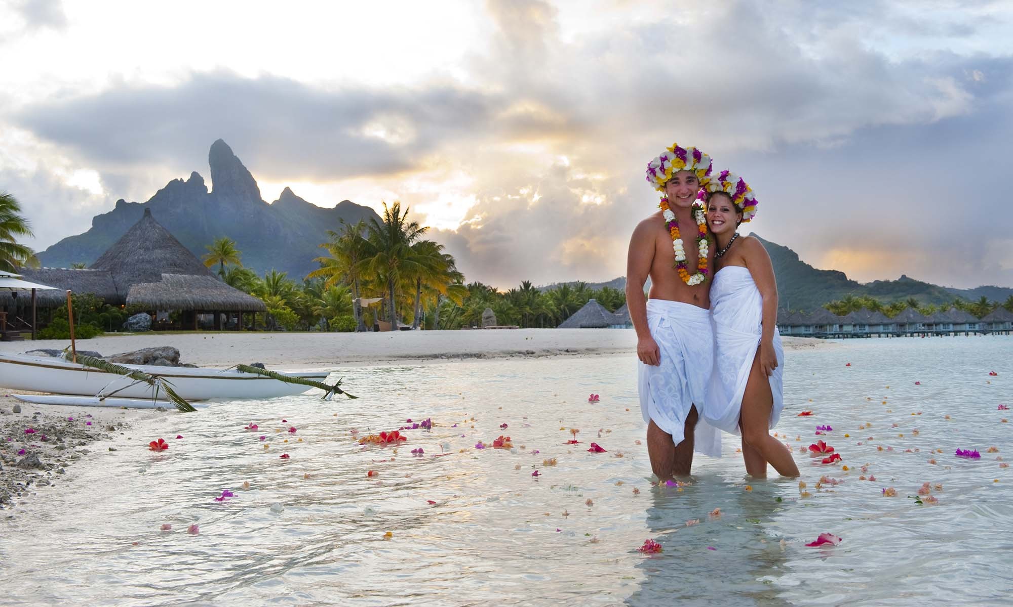 St Regis Bora Bora Resort, Weddings