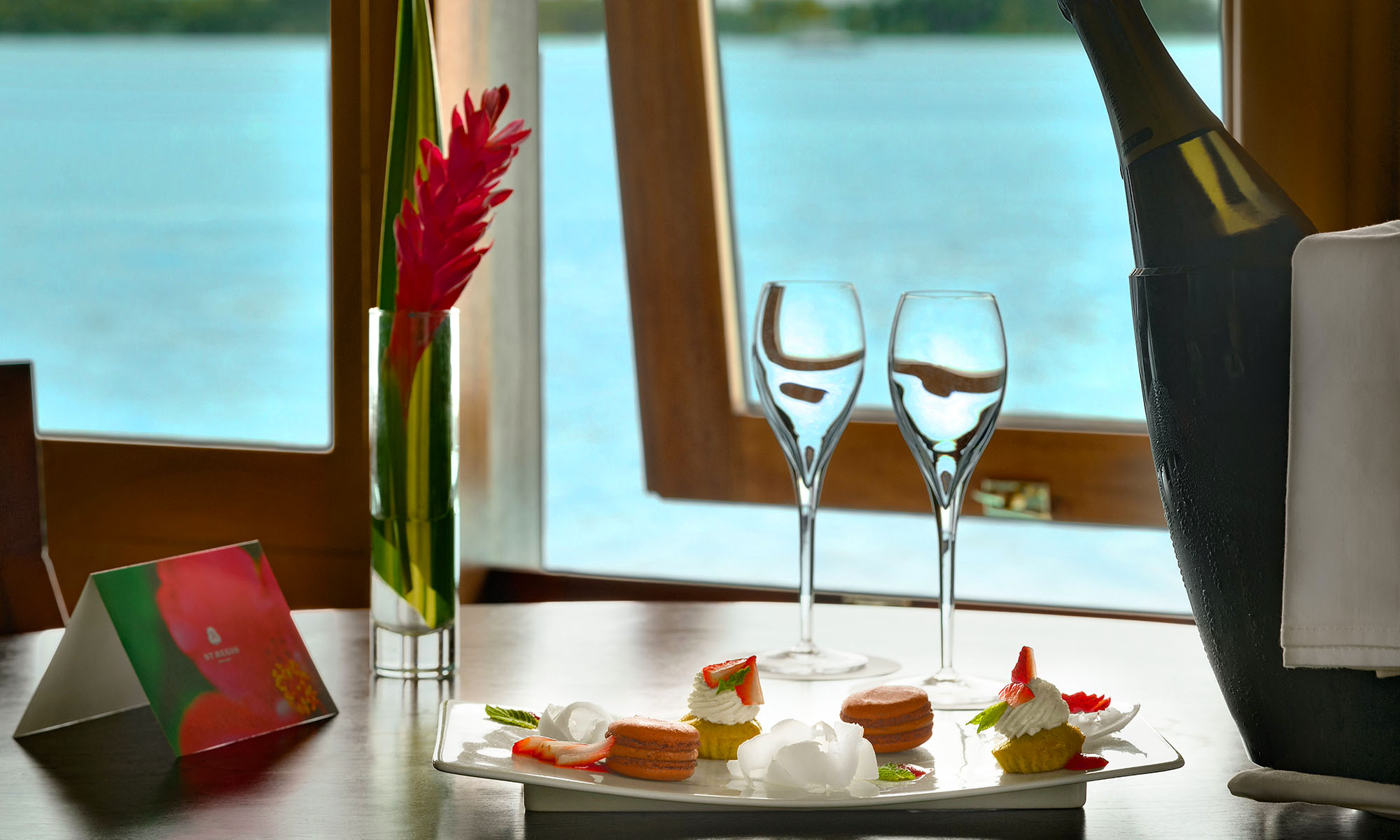 St Regis Bora Bora Resort, Romantic Amenities