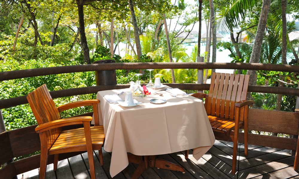 Le Taha`a Island Resort and Spa, Le Vanille Restaurant