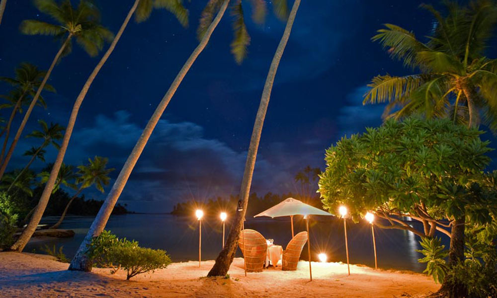 Le Taha`a Island Resort and Spa, Romantic Dinner