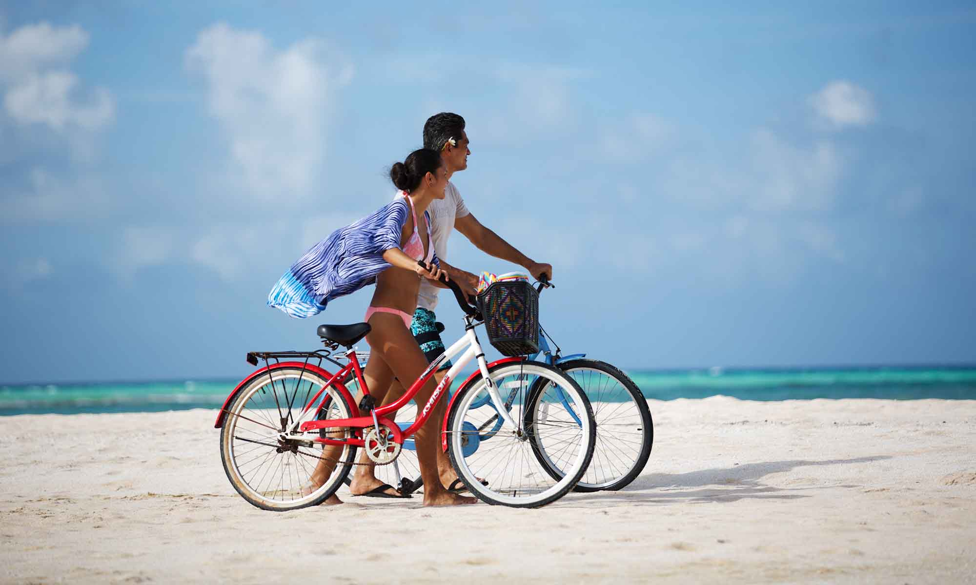 Bicycle Riding on Tikehau