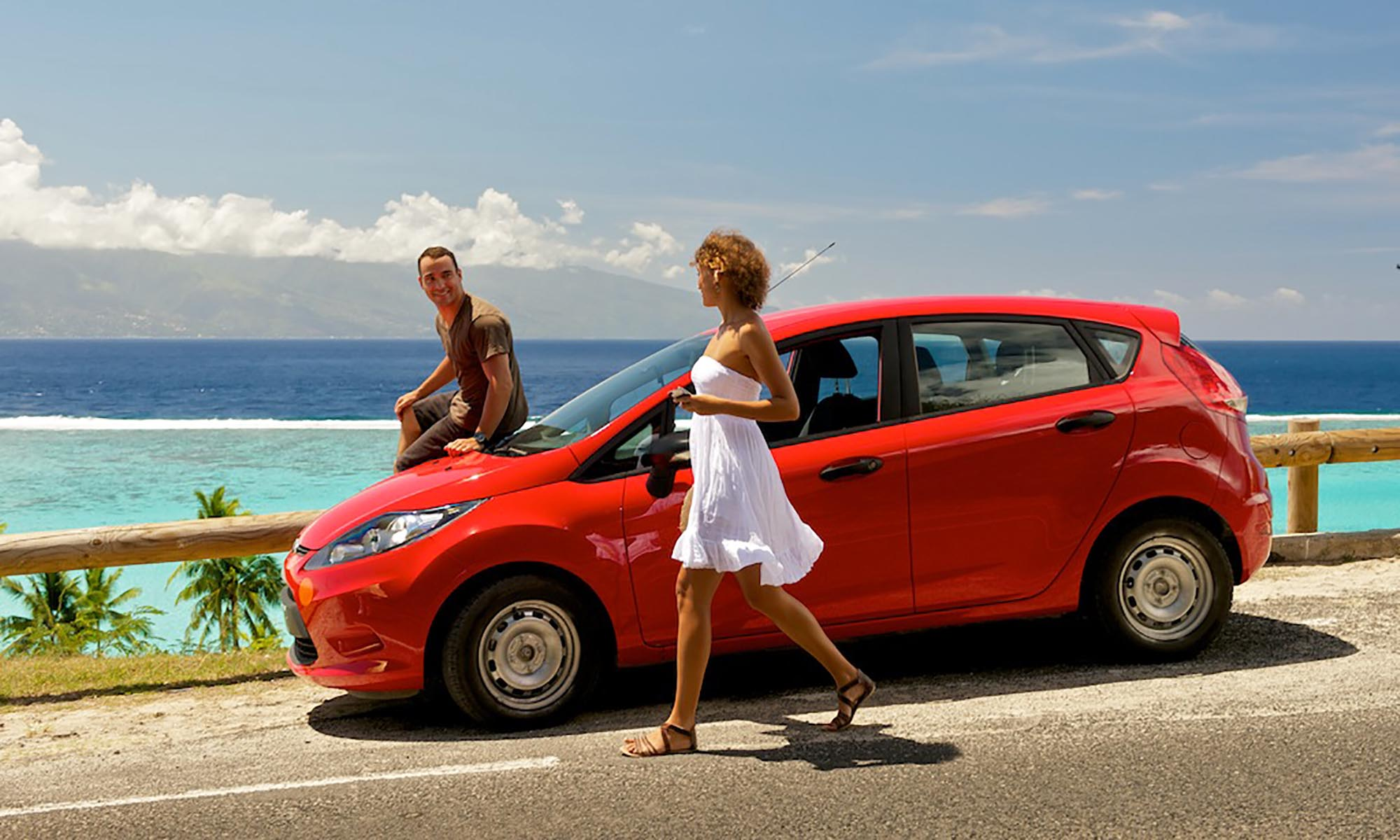 Avis Car Rental in Tahiti