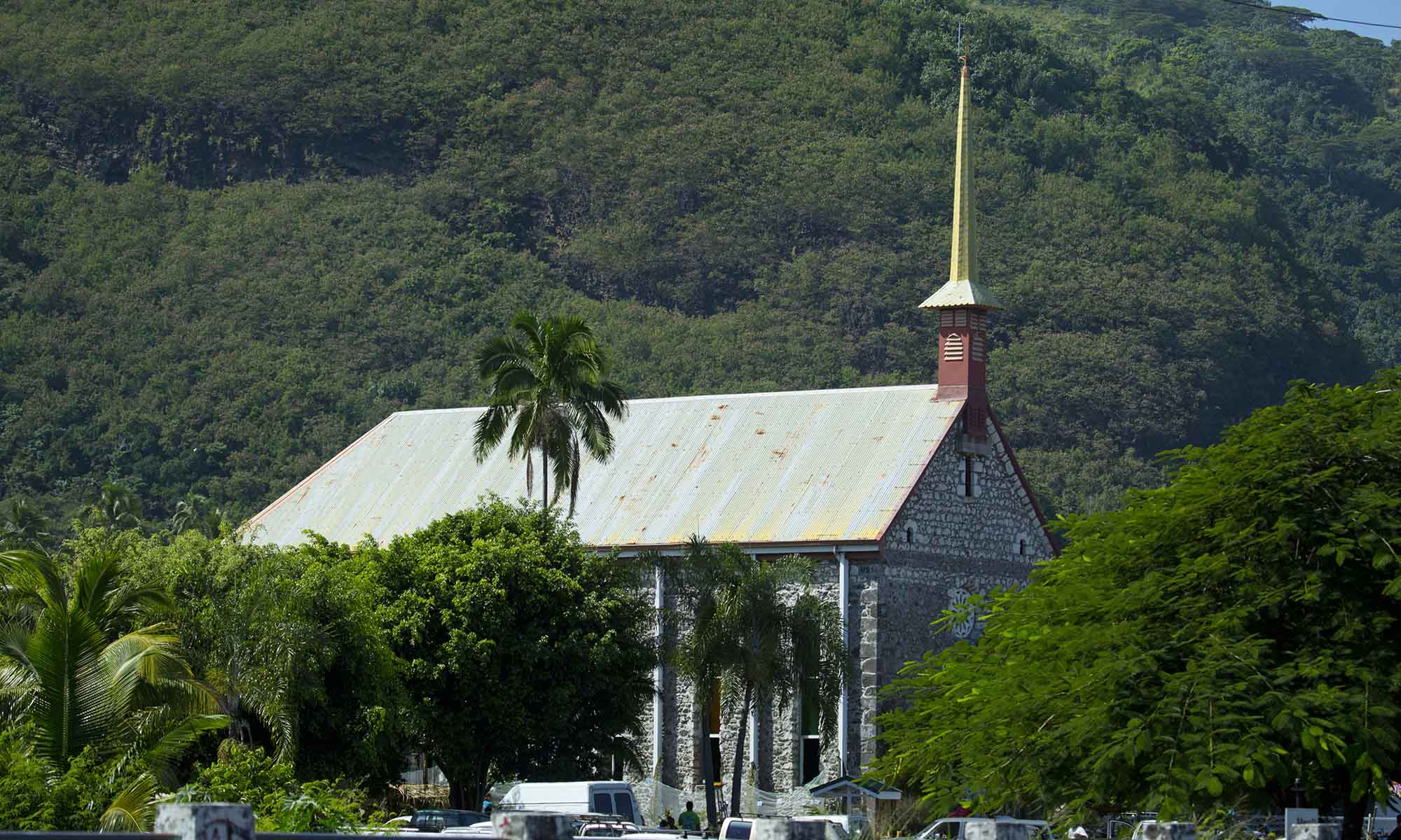 Church, Tahiti