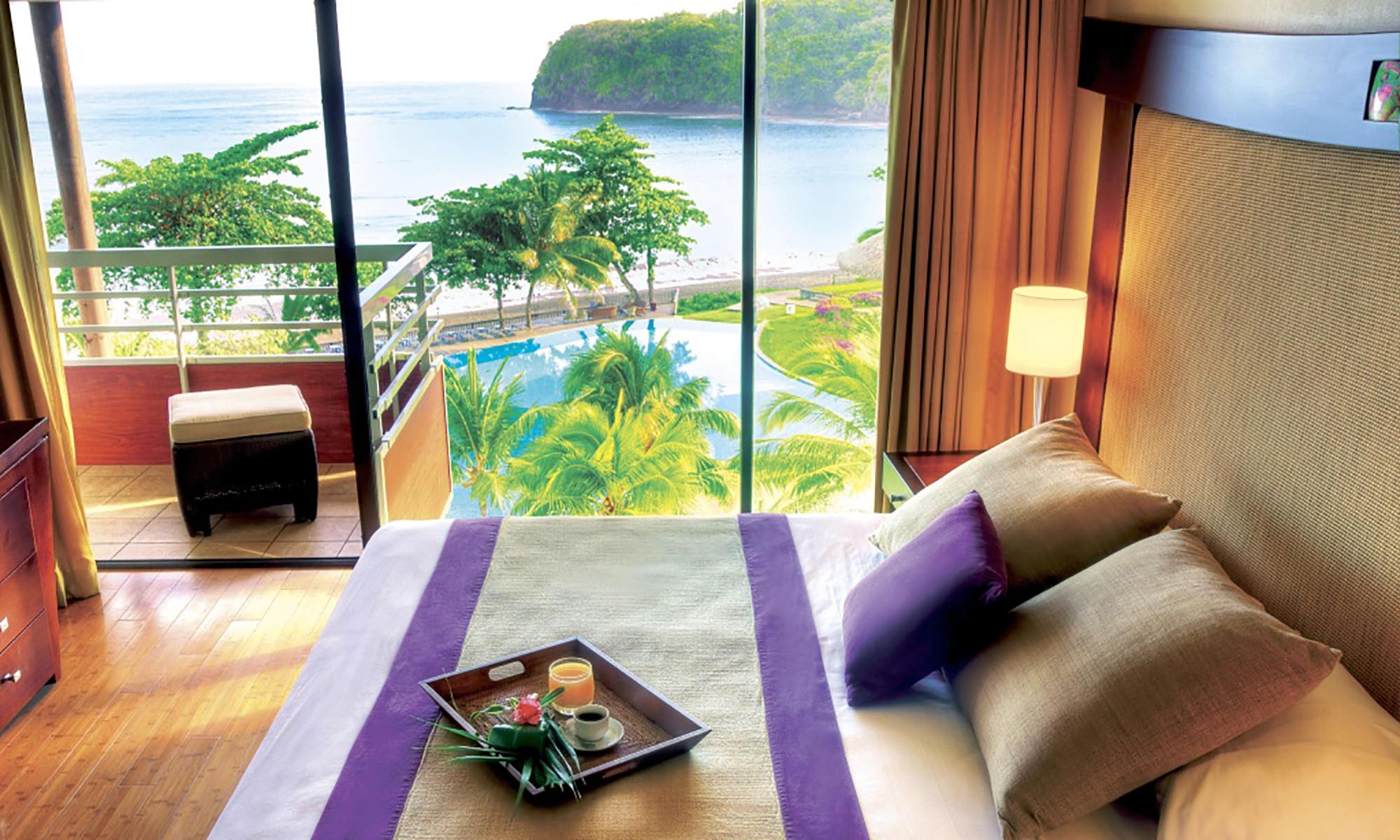 Tahiti Pearl Beach Resort, Ocean View Duplex Room