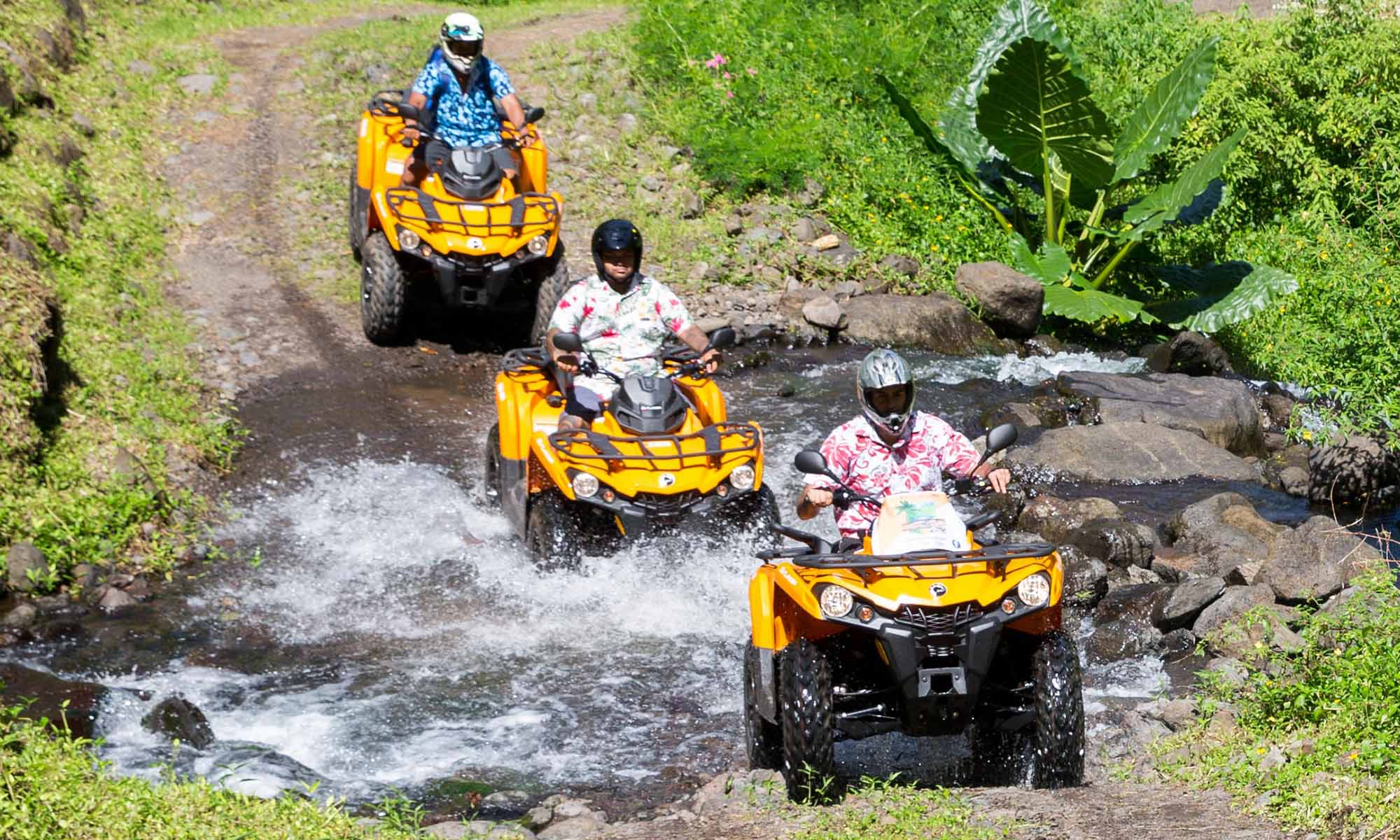 Tahiti ATV Adventure with Vaihiria Quad