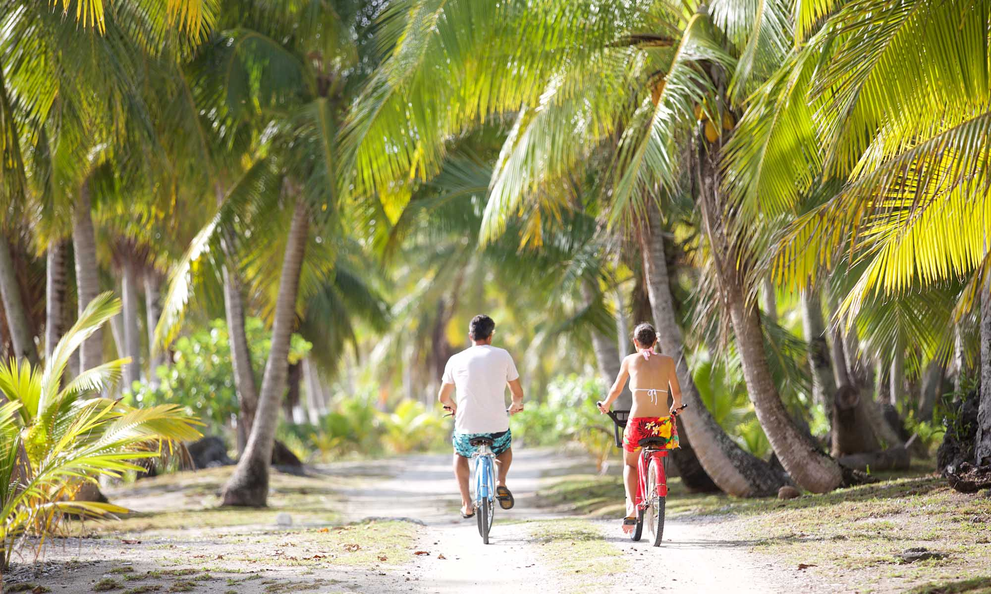 Tikehau Pearl Beach Resort, Bicycle Riding