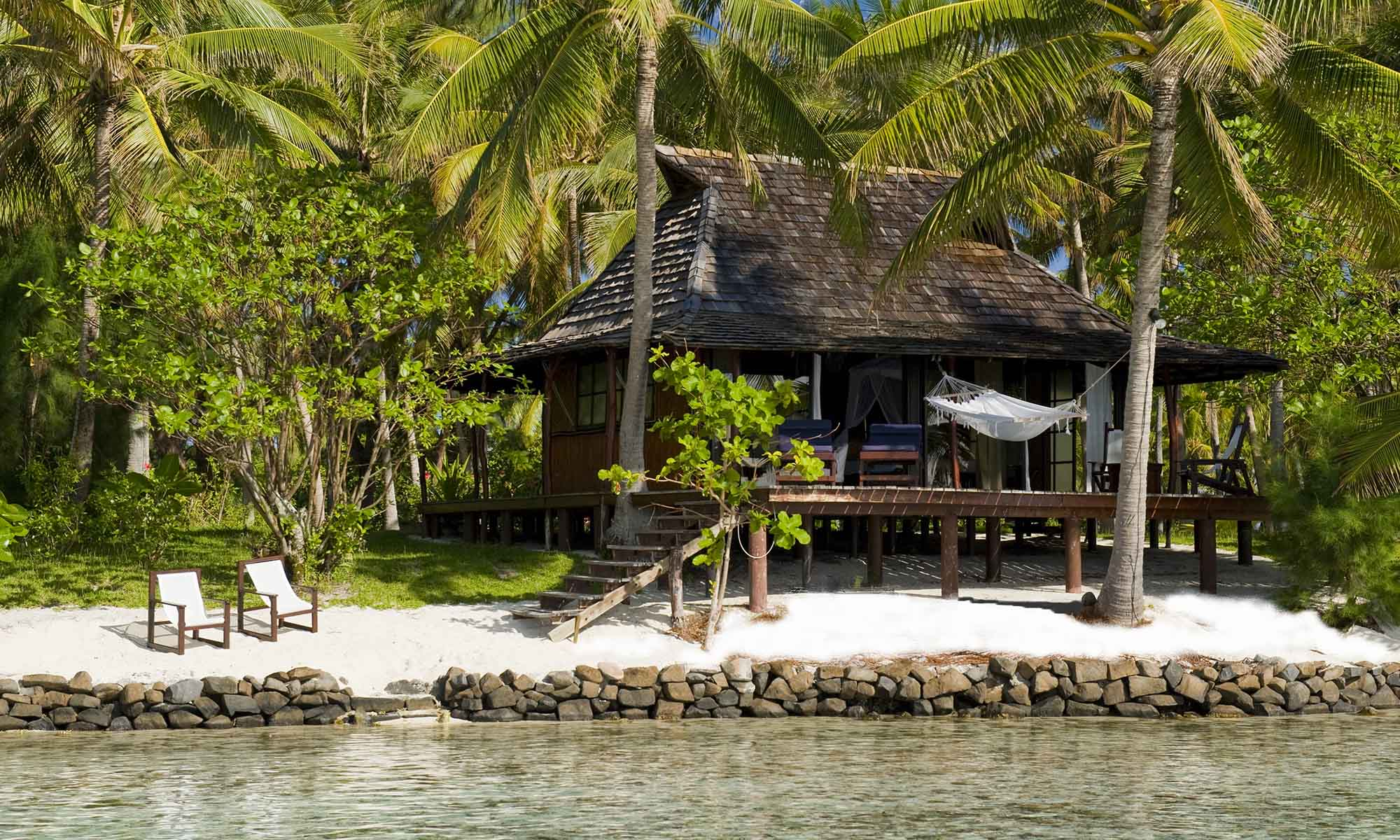 Vahine Island Resort, Beach Bungalow