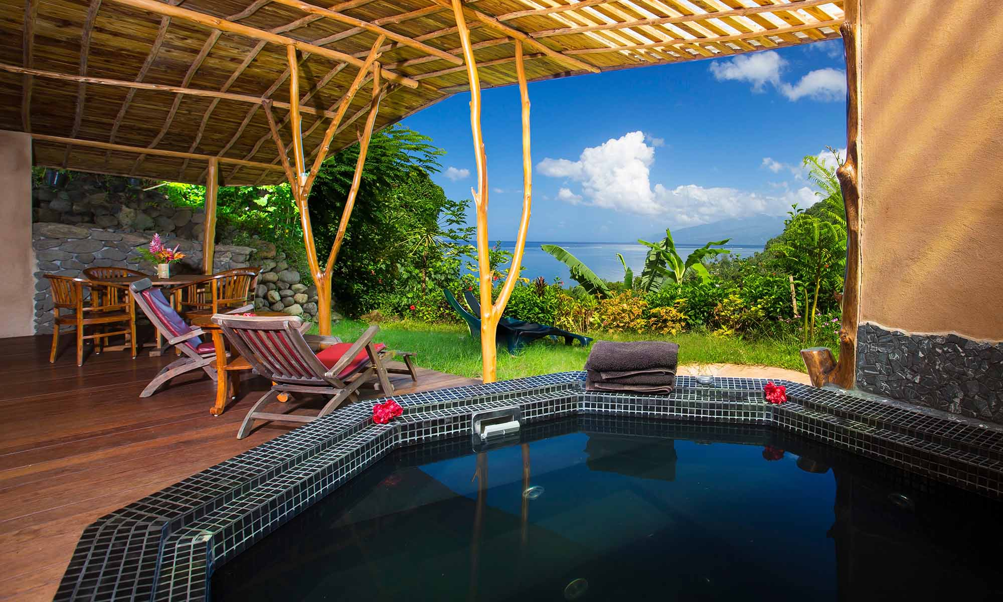 Vanira Lodge, Vai Here Bungalow Jacuzzi