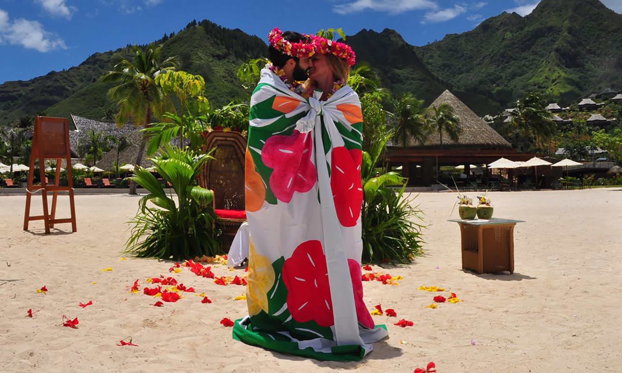 InterContinental Moorea Resort & Spa, Polynesian Wedding Ceremony