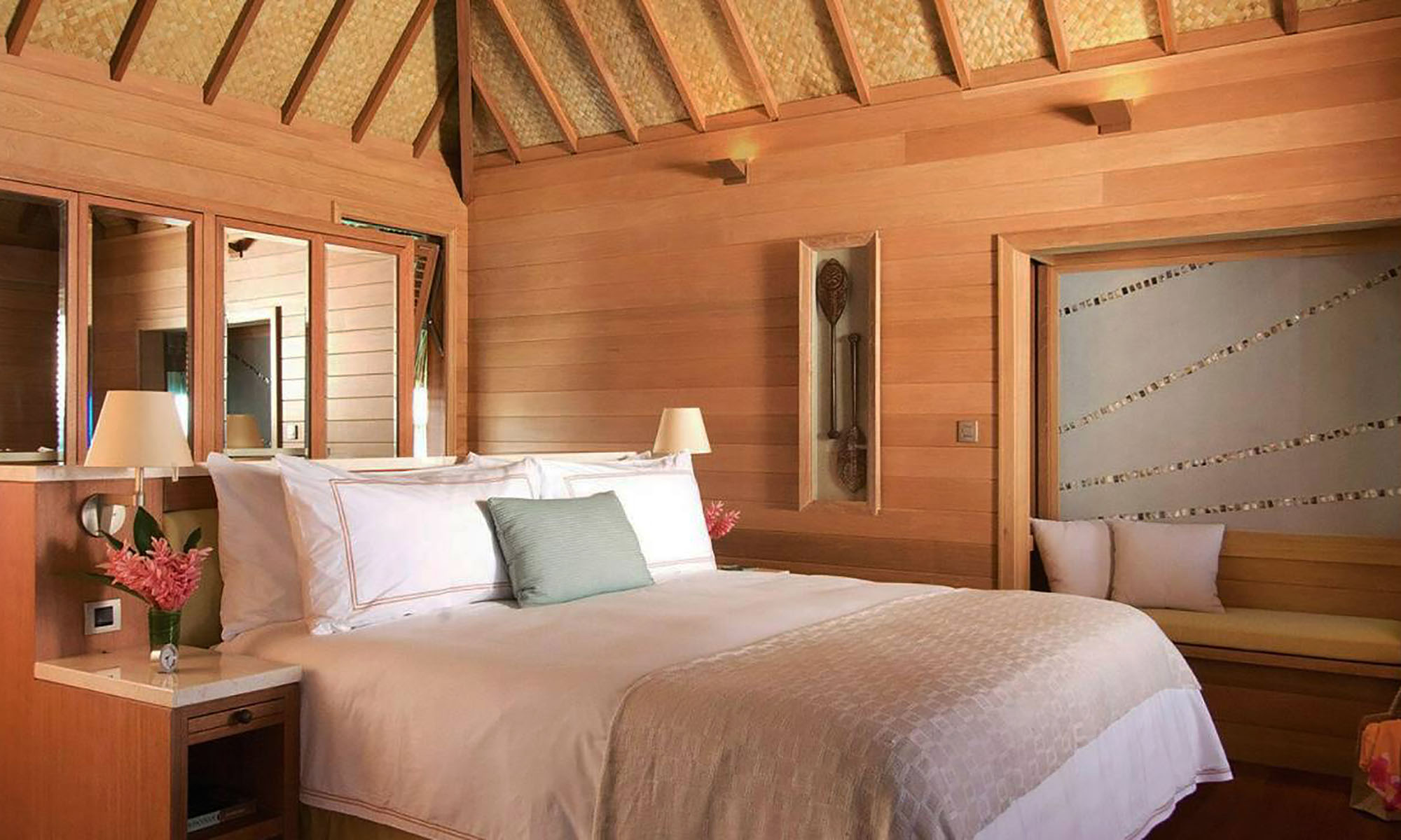 One-Bedroom Beach View Overwater Bungalow Suite